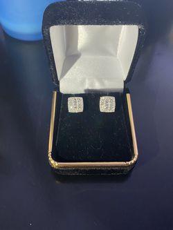 14K Diamond Earrings for Sale in Bowie,  MD