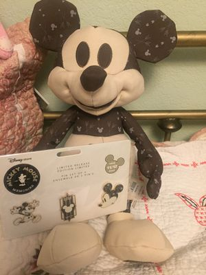 November Disney Mickey Mouse plush and pins for Sale in Colma, CA