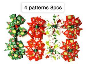 8pcs Snow Christmas Ribbon Hair Clips for Sale in Norfolk, VA