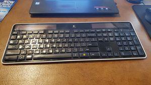 Logitech wireless keyboard solar for Sale in Gilroy, CA