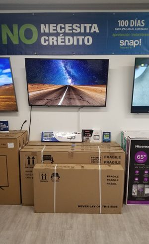 55 inch tv weekend sale $279.99 financing available $59.99 down no Credit check for Sale in Chino, CA