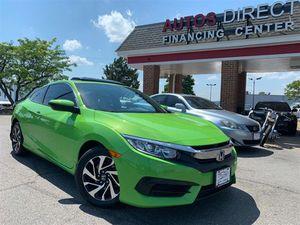 2017 Honda Civic Coupe for Sale in Fredericksburg, VA