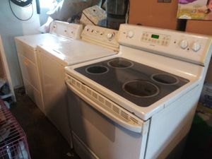 Glass top stove Maytag washer Kenmore dryer for Sale in O'Fallon, IL
