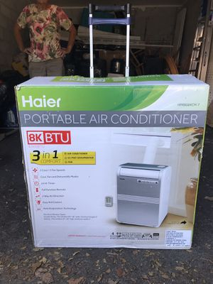 Air Conditioner Portable Haier for Sale in Miami, FL