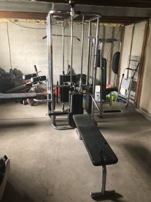 All in one Weights set Completely gym for Sale in Pittsburgh, PA