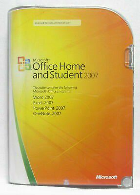 Full Version 2007 Microsoft Office Home and Student (W/ Product Key) Windows PC for Sale in Saginaw, TX