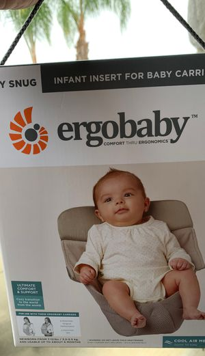 Ergo baby carrier insert for Sale in Perris, CA