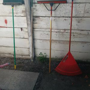 Rake,Broom,Big Squeegee for Sale in Salinas, CA