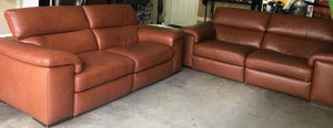 All leather couch, just one left. Recliner. for Sale in Oregon City, OR