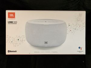 JBL Link 300 Voice activated Bluetooth speaker for Sale in Elmwood, LA