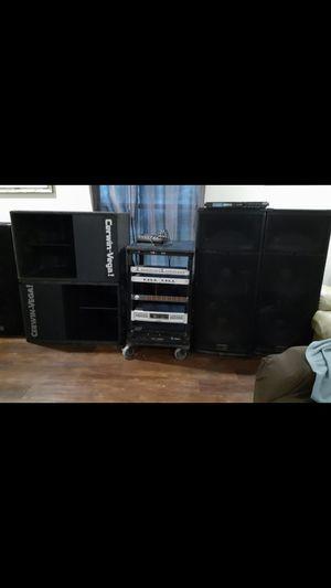 Equipo de sonido DJ completo for Sale in Donna, TX