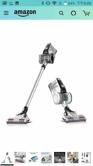 Cordless Vacuum Cleaner, 2 in 1 Stick Vacuum with Detachable Battery, up to 40 Minutes' Run time and LED Brush … for Sale in Rancho Cucamonga, CA