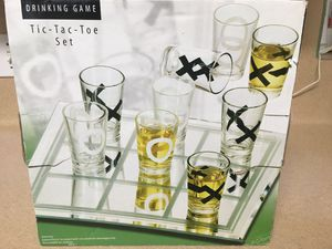 New Tic-Tac-Toe Drink Game for Sale in Richmond, TX