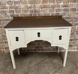 Vintage Farmhouse Desk / Vanity / Entry Table ( Please Read Description) for Sale in Temecula, CA