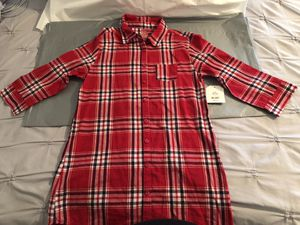 Girls Red Plaid Tunic Style Shirt Dress for Sale in South Jordan, UT