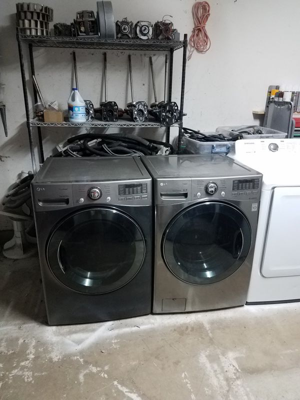 LG washer and electric dryer