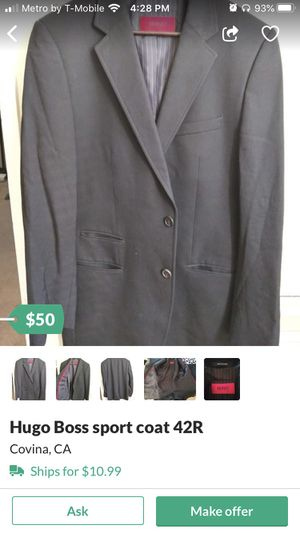 Hugo boss sport coat 42R for Sale in Covina, CA