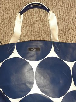 Kate Spade Polkadot Vinyl Tote for Sale in Fife,  WA