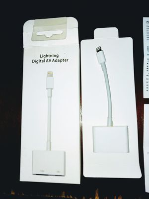 Iphone to HDMI Direct Lightning Fast Streaming Video Adaptor for Sale in Independence, MO