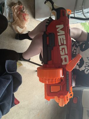 NERF E2849F06 Megalodon N-strike Mega Toy Blaster Toy for Sale in Weatherford, TX