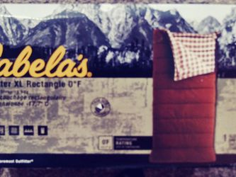 Cabelas Outfitter XL. 0° for Sale in Bothell,  WA