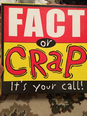Fact or Crap board game for Sale in Boca Raton, FL