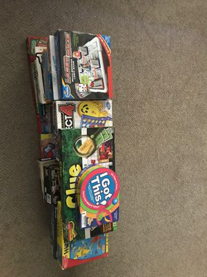 Collection of Board Games and More for Sale in Salt Lake City, UT