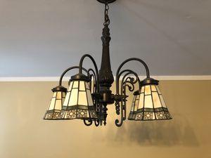 5 light chandelier for Sale in Silver Spring, MD