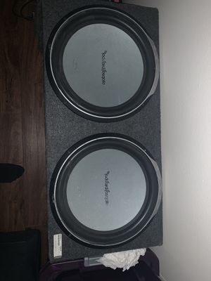 "Rockford Fosgate P1 15"" Subwoofers w/ 3000w amp for Sale in Columbus, OH"