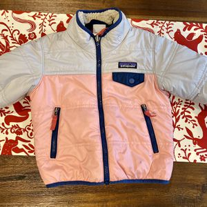 Reversible Patagonia Jacket 2Y for Sale in Lake Zurich, IL