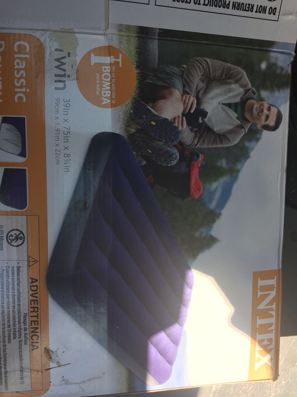 Intex twin air mattress