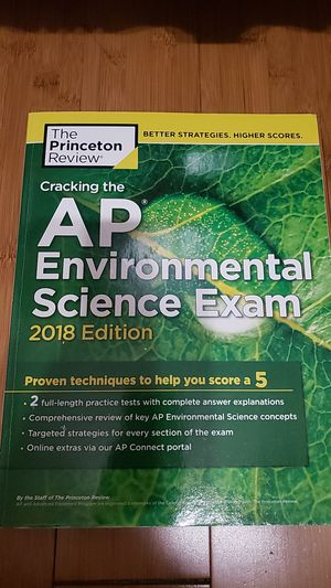 Cracking the AP Environmental Science Exam 2018 Edition for Sale in Ontario, CA