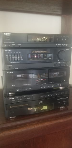 Sony home Stereo/CD for Sale in HUNTINGTN BCH, CA