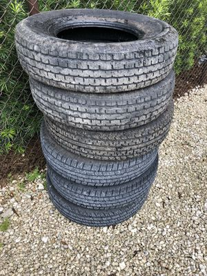Trailer tires 235/80/16, 10 ply for Sale in Southwest Ranches, FL