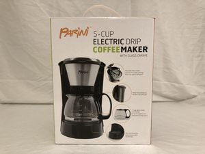 Parini 5-Cup Electric Drip Coffee Maker (New) for Sale in Minneapolis, MN