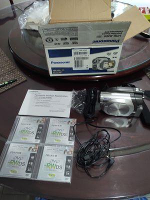 Panasonic VDR-D200 DVD Video Camera for Sale in East Brunswick, NJ