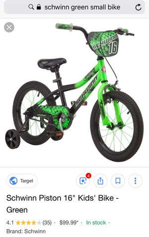 Kids bike with handle in back if needed for Sale in Chula Vista, CA