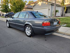 2001 BMW 740iL 66k miles for Sale in Temecula, CA