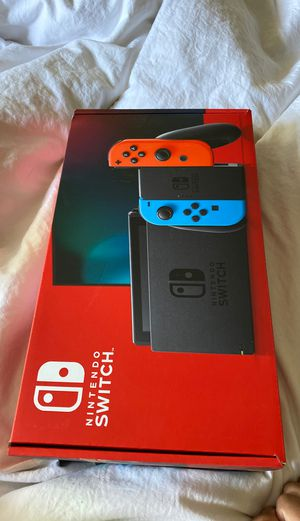 Brand New Nintendo Switch Un opened for Sale in Gilbert, AZ