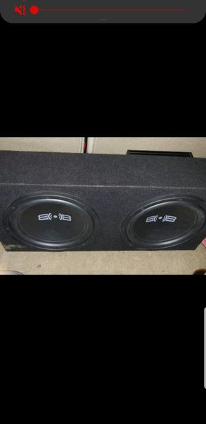B & B 10 inch subs and amp for Sale in Naugatuck, CT