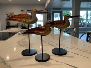 Set of three decorative birds for Sale in Orlando, FL