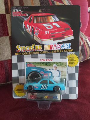 Collectibles.TOM PECK 1/64 racing champions 1991 nascar diecast racing car.NEW!! for Sale in National City, CA