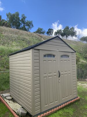 Vinyl shed- FIRM on price for Sale in San Diego, CA