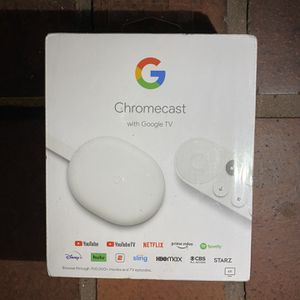 Chromecast With Google TV for Sale in Newport Beach, CA