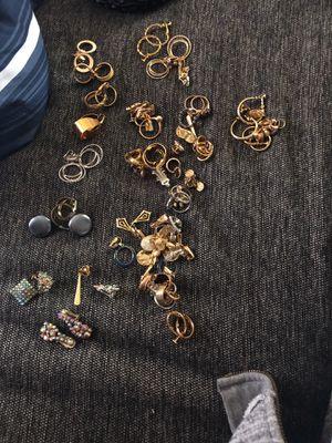Clip on ear rings for Sale in Boston, MA