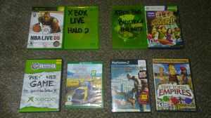 Xbox live, xbox 360, xbox, xbox one, PS2, and CD-ROM for Sale in West Valley City, UT
