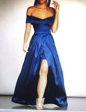 Windsor Blue Prom Dress (M) for Sale in North Las Vegas, NV