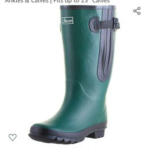 Extra Wide Calf Women Rain Boots,The Widest Fitting Womens Rainboots in The US,Specially Designed for Ladies with Wide Feet,Ankles & Calves for Sale in Sloan, NV