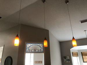 kitchen island pendant lights (set of 3) for Sale in Azalea Park, FL