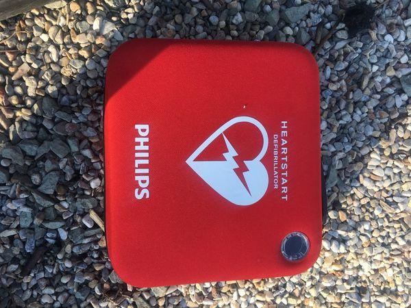 Philips heart start defibrillator